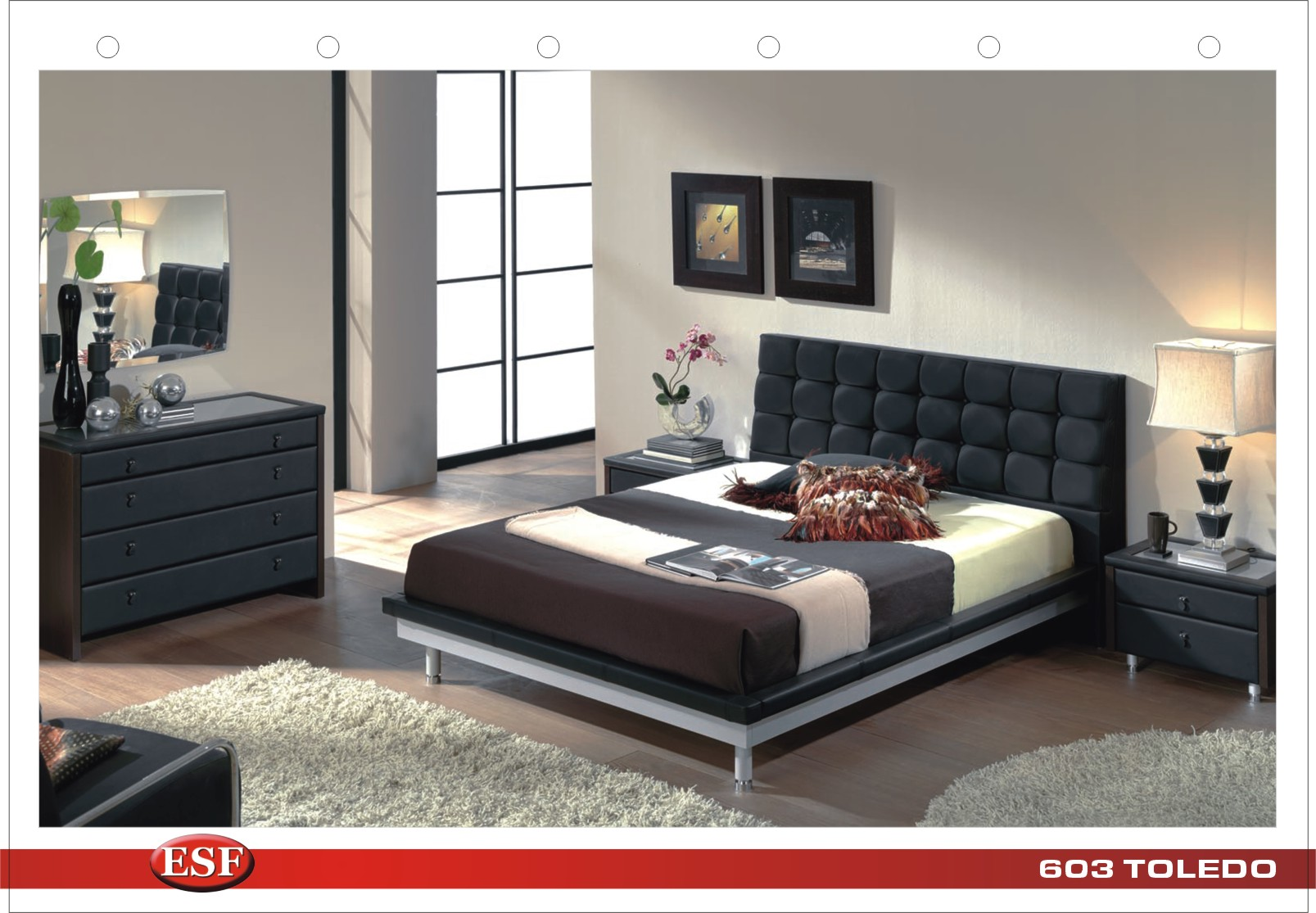 contemporary bedroom sets. queen size bed. modern furniture stores